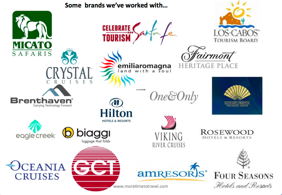Some of the brands we've worked with
