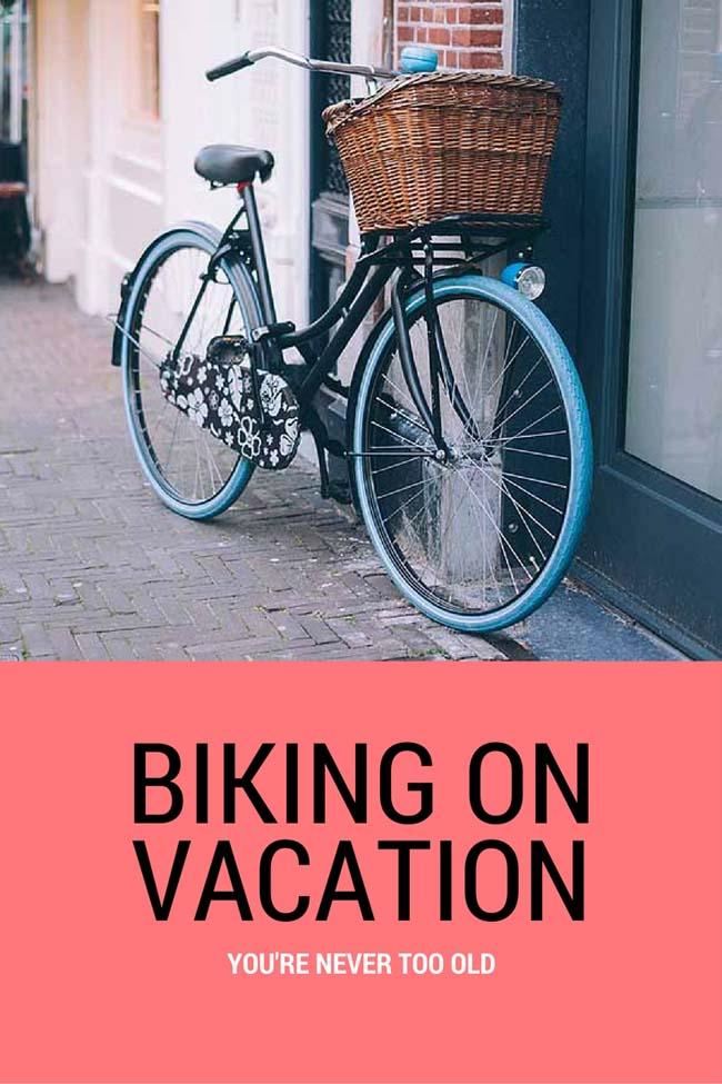 biking on vacation