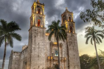 Catedral de San Gervasio, Valladolid, Mexico (Credit: Michele Peterson)
