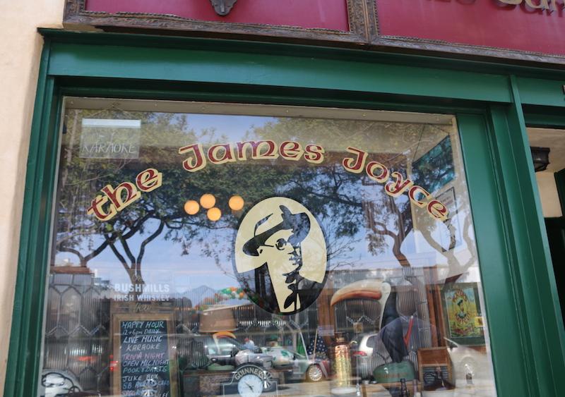 Entrance to The James Joyce