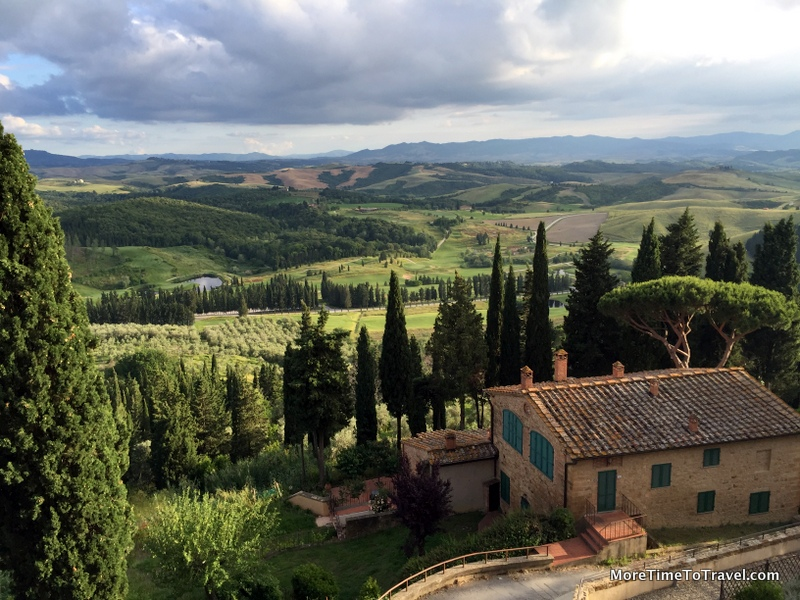 View from Toscana Resort Castelfalfi