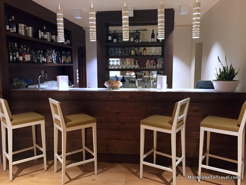 Intimate hotel bar at La Tabaccaia
