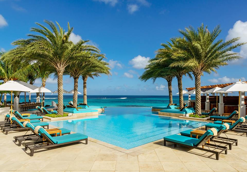 Ideal for Mermaids: Zemi Beach House Infinity Pool. (Credit: Zemi Beach House Resort & Spa)