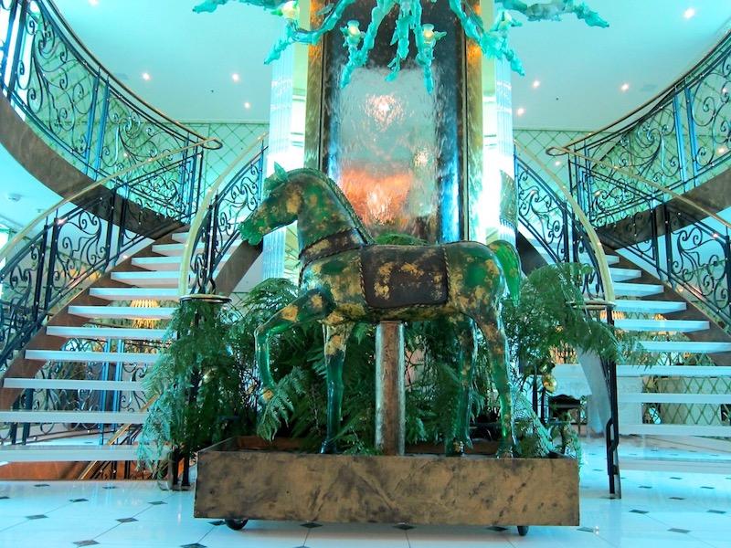 Lobby of Uniworld S.S. Catherine