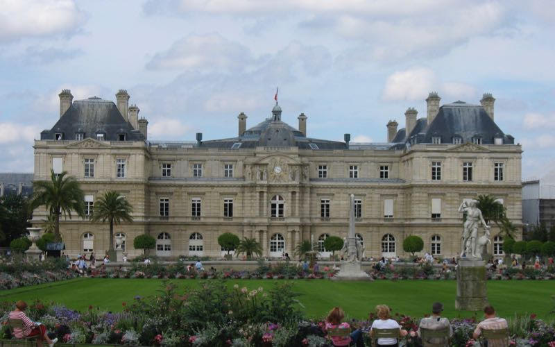 Luxembourg Gardens in Paris, France, a perfect place to find happiness in France (Credit: Janice Chung)