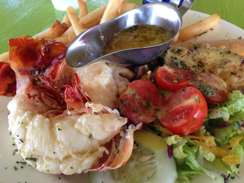 Grilled Lobster Lunch