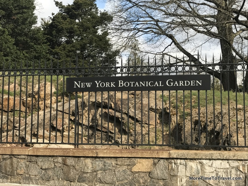 Gate to NYBG on Southern Boulevard in the Bronx