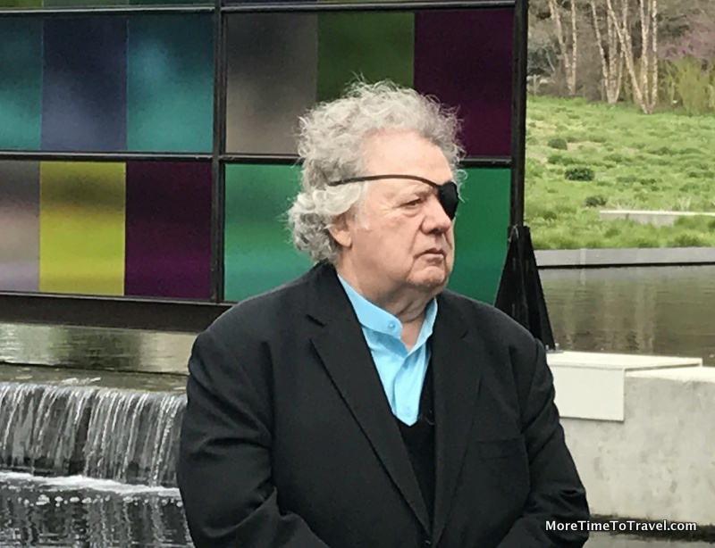 Dale Chihuly at the NYBG