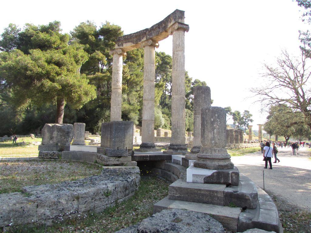 Ruins at Olympia