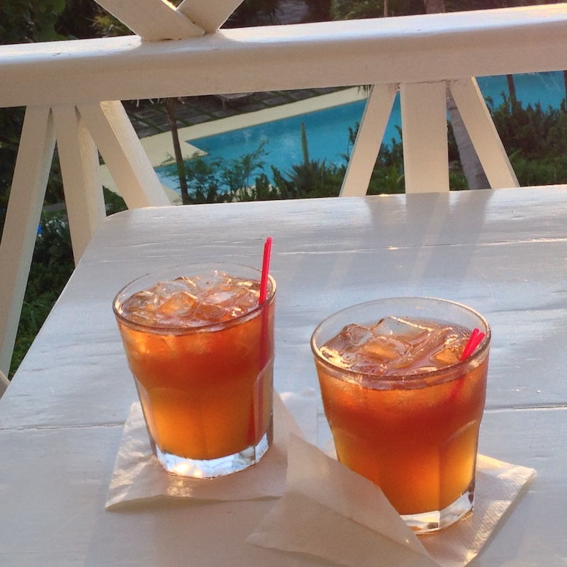 Rum Punch On The Terrace