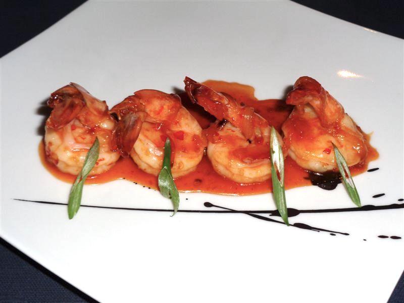 Scrumptious shrimp on Marina
