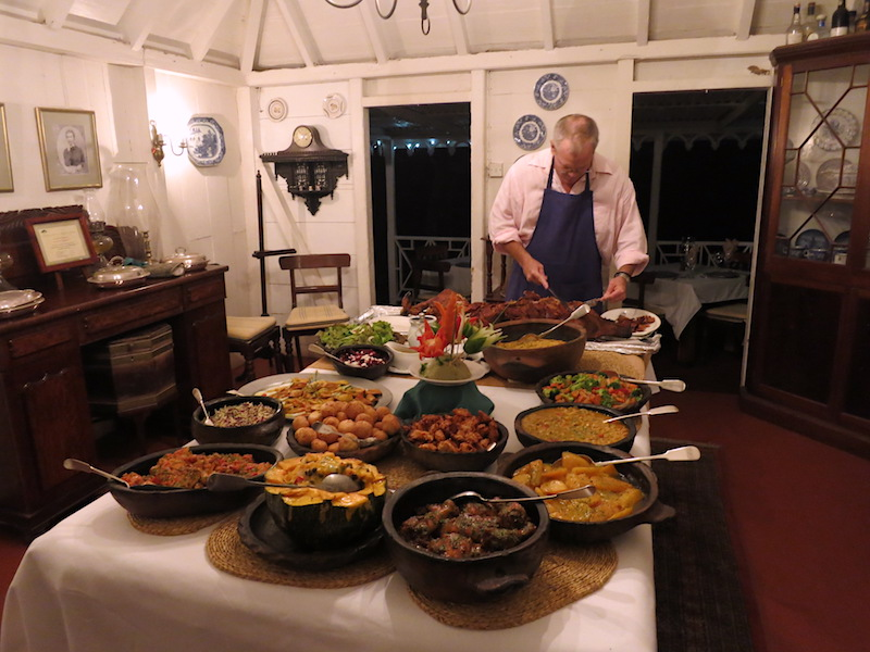 West Indian Buffet at Hermitage Plantation