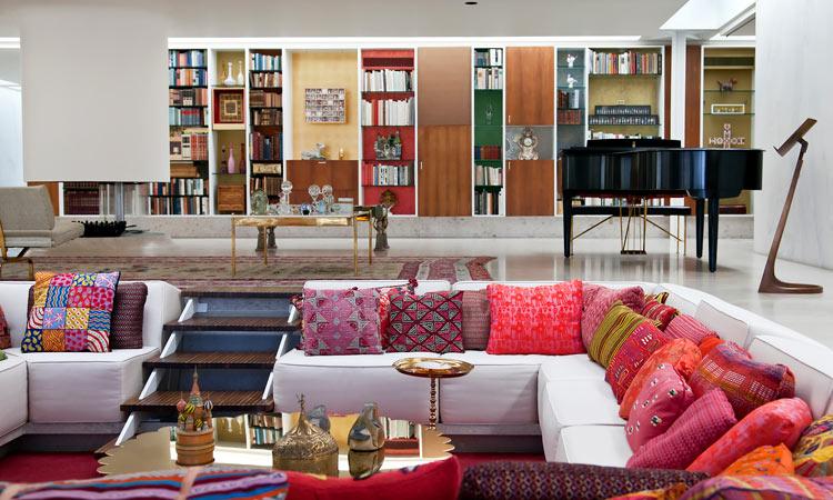 Sunken living room Mid Century Modern