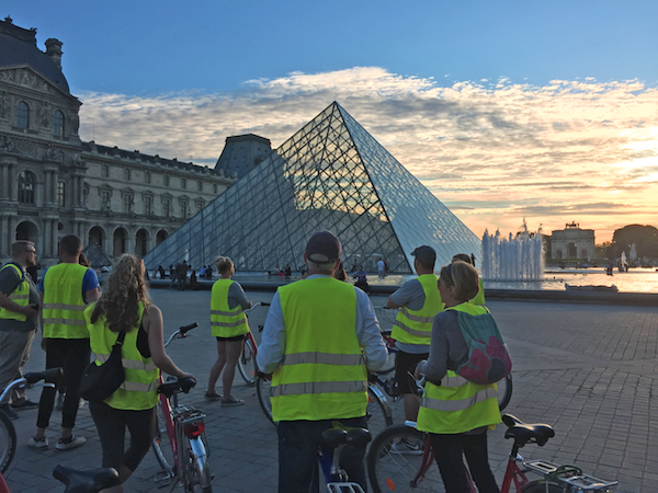A 4-hour sunset bike tour of Paris led by Fat Tire Tours, which included pedaling by all major sites, an ice cream pit stop, and red wine on a Seine riverboat, was a standout.