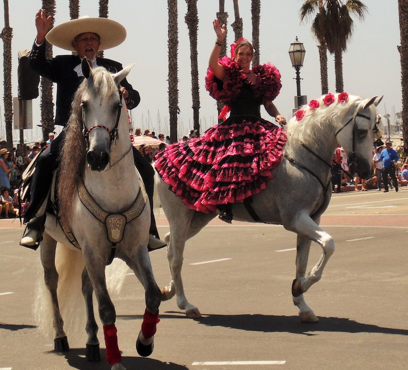 Old Spanish Days Parade (Credit: Bonnie Carroll)