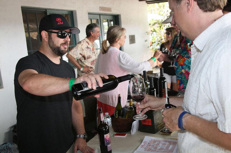 Wine tasting (Credit: Santa Barbara Natural History Museum)