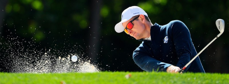 Olympic Gold Medalist, Golfer Justin Rose in Adidas Sports Eyewear