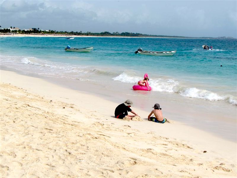 Family fun by the sea in Punta Cana