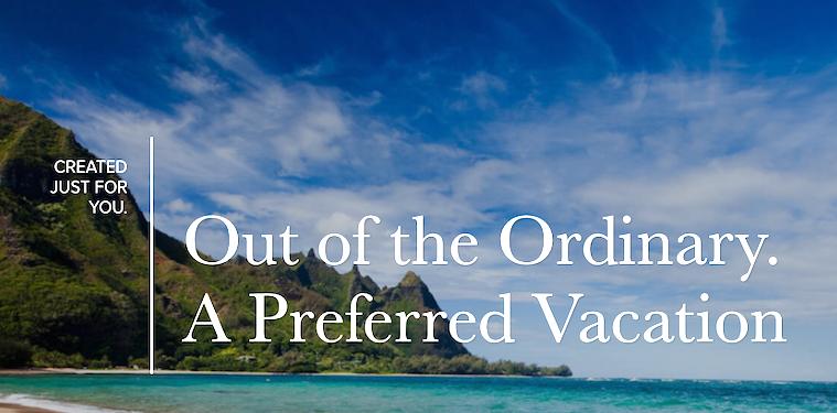 Preferred Vacations: Screen Shot
