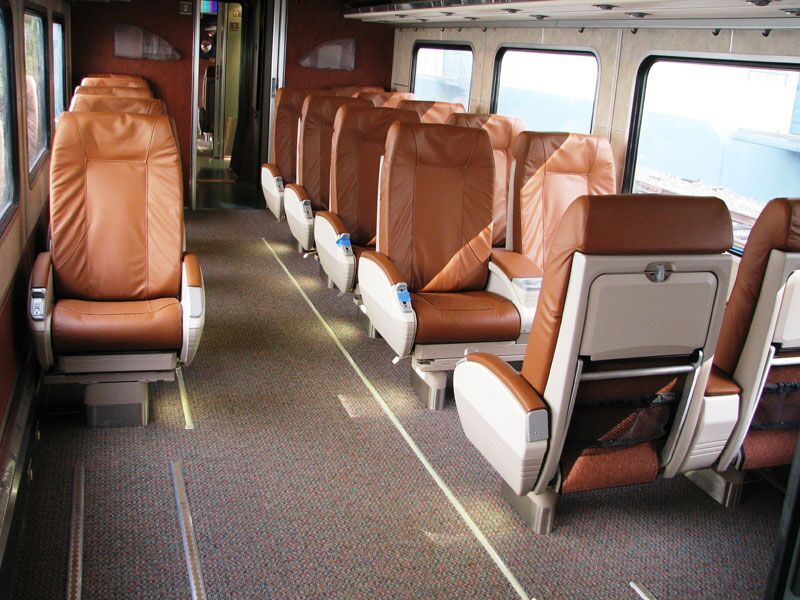 Amtrak Cascades business class