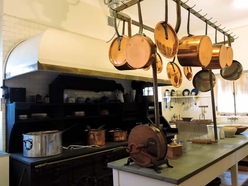 Vizcaya Museum and Gardens kitchen