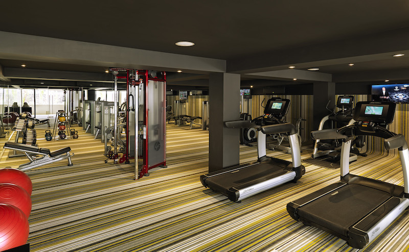 Inviting gym at Paradisus Los Cabos