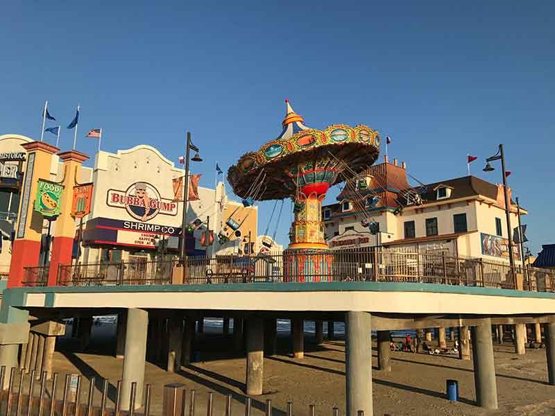 Pleasure Pier Swings Galveston