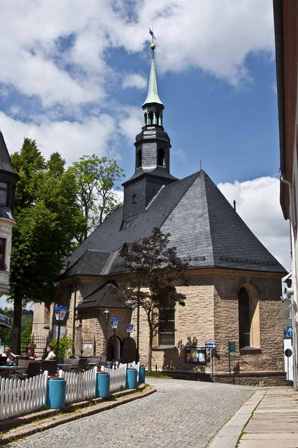 The Miner's Church in Annaberg-Bucholz