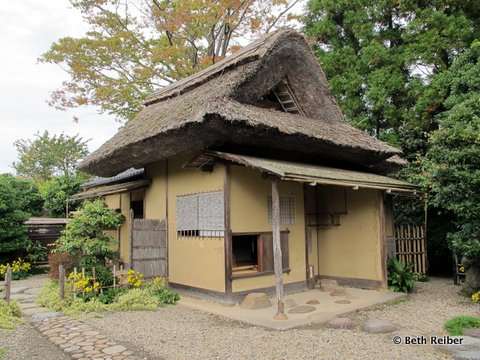 An 18th-century teahouse in Matsue