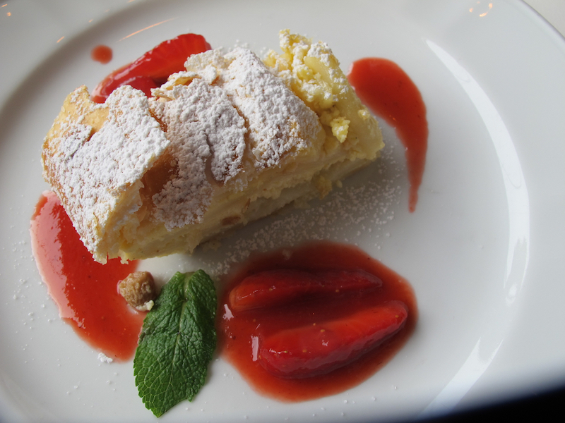 After a morning of skiing in Austria's Arlberg, don't skip on dessert. ©Hilary Nangle.jpg