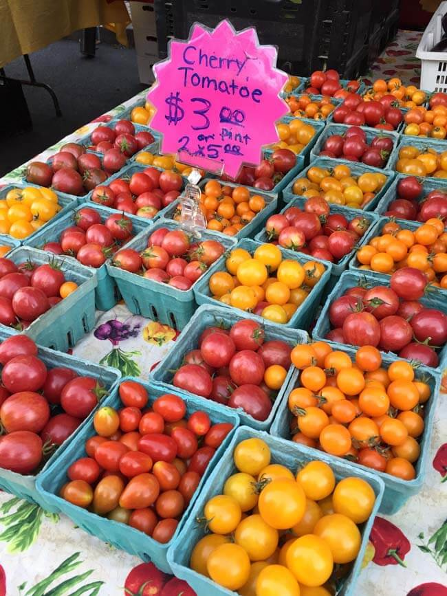 Tualatin Valley tomatoes