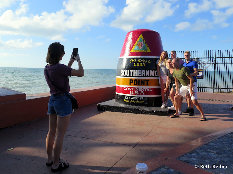 The Southernmost Point, Key West's favorite spot for photographs