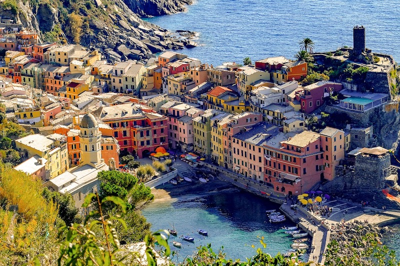 Vernazza, one of the Cinque Terre (Pixabay)