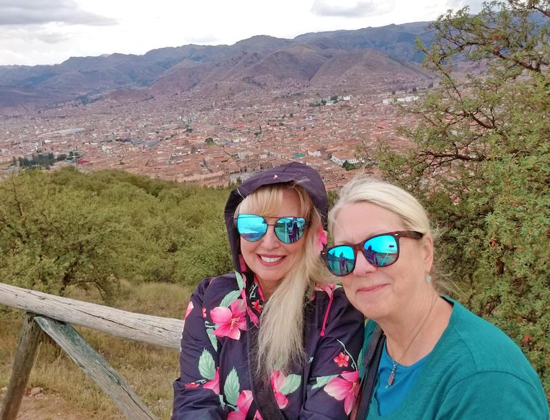 Views of Cusco from Saqsaywaman
