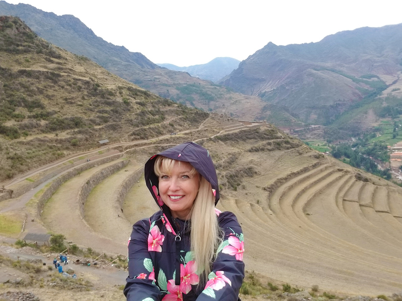 Stunning agricultural terraces at Pisac