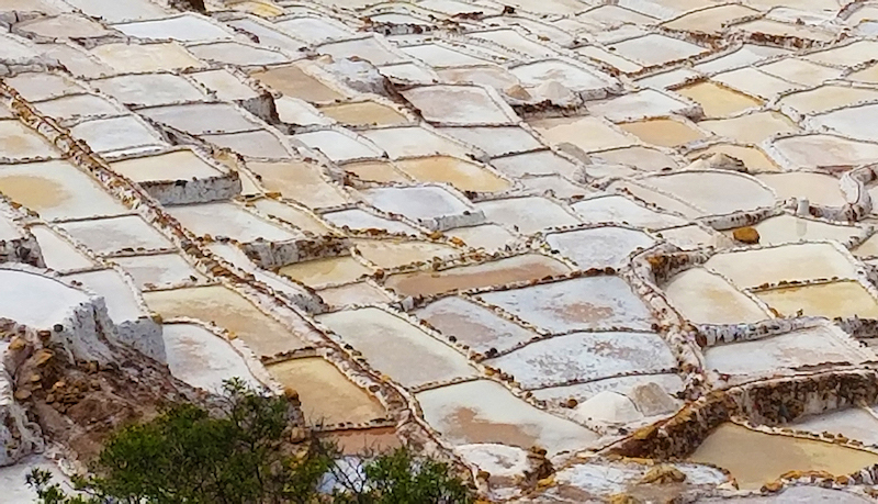 The Maras Salt Mines have been in use since Incan times