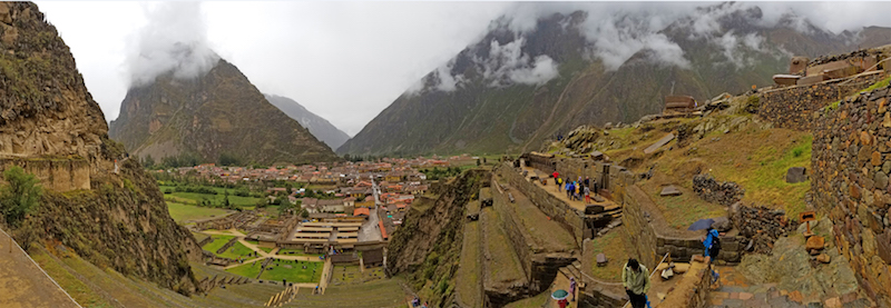 Ollantaytambo, one of the best-preserved of the Inca ruins