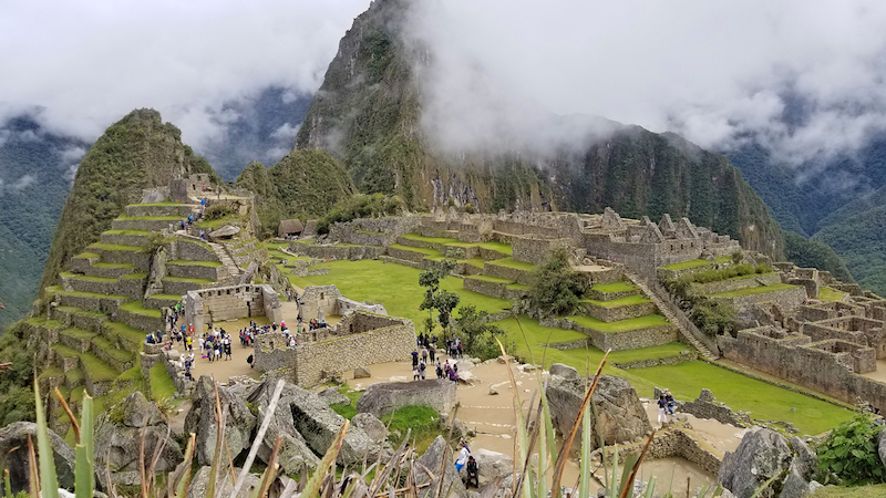 The iconic overlook of Machu Picchu is even more spectacular in person