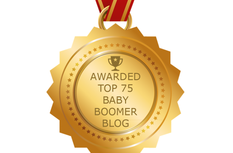 Getting On Travel named a Top Baby Boomer Blog