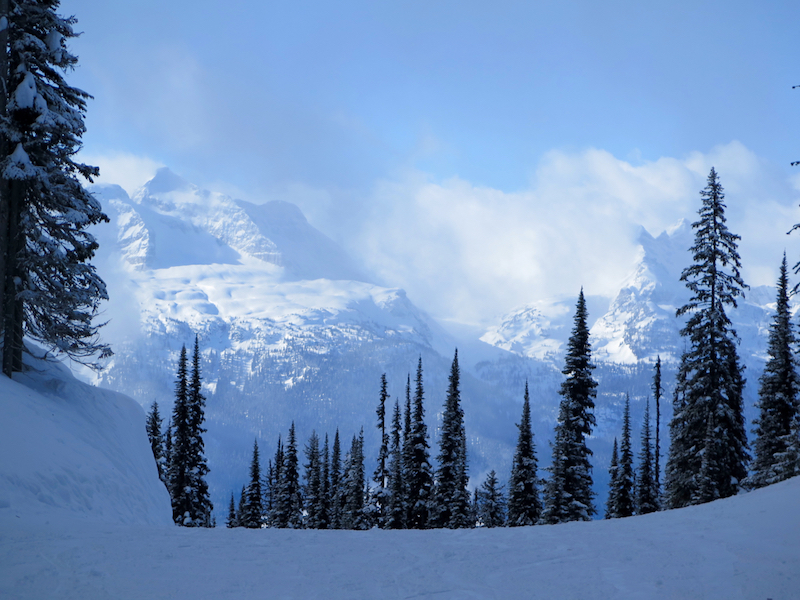 Be sure to pause to admire the views at Revelstoke