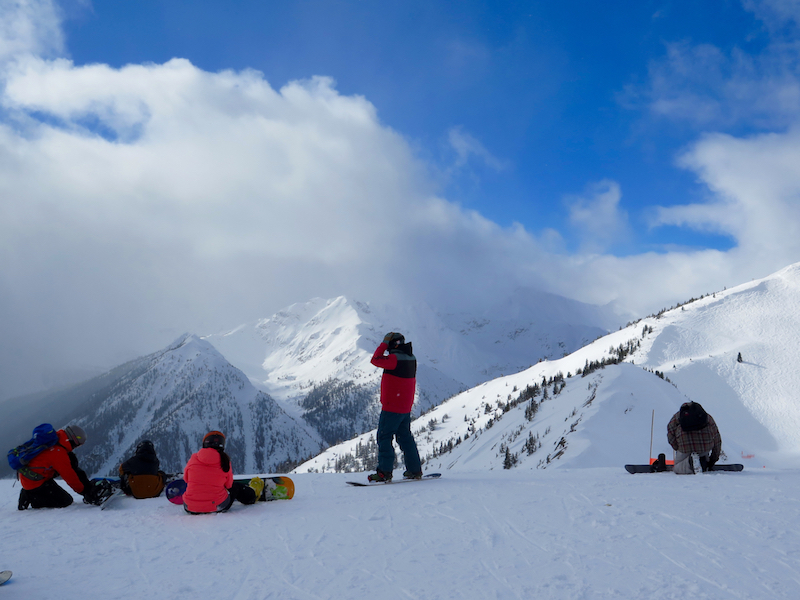 Choose from open bowls, trees and groomed runs at Kicking Horse