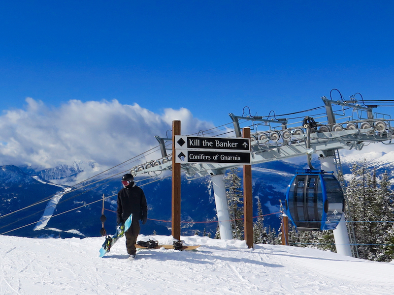 Hop the gondola for easy access to Revelstoke's expansive terrain