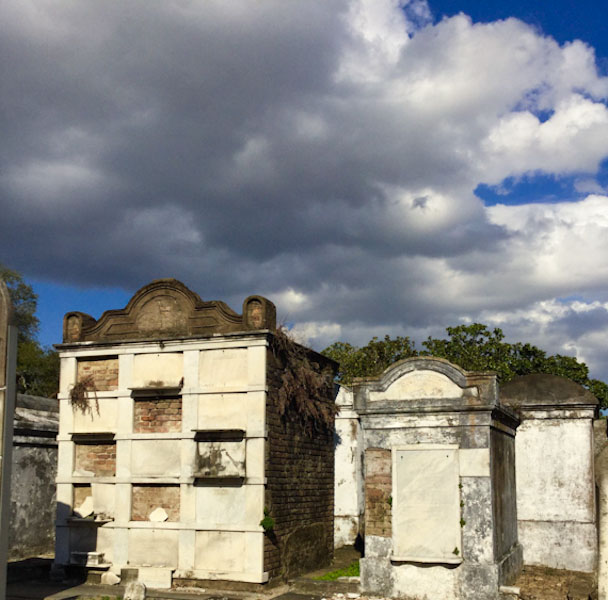 Tombs at Lafayette Cemetery New Orleans