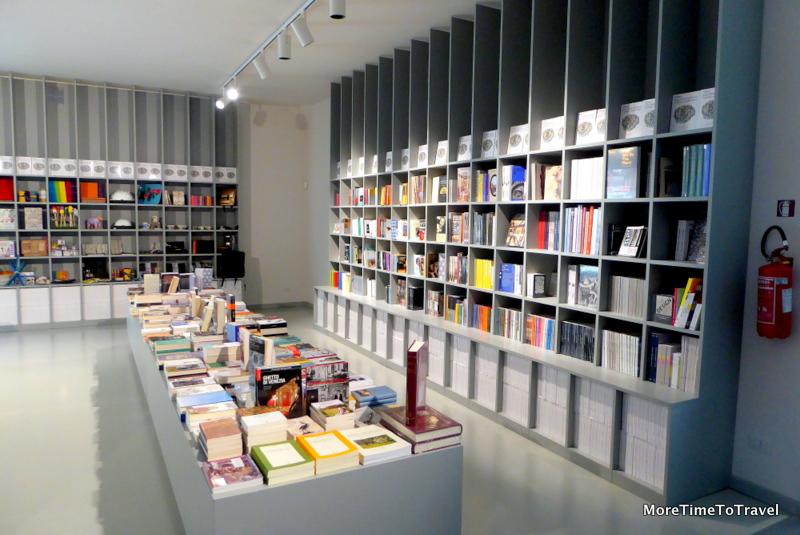 Museum book shop