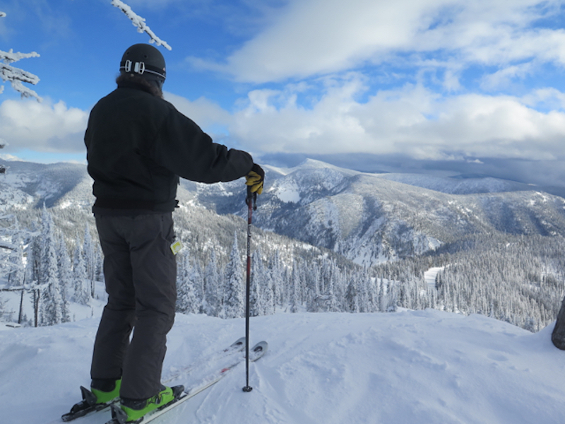 When skiing Montana Snow Bowl, it can feel as if you're on top of the world