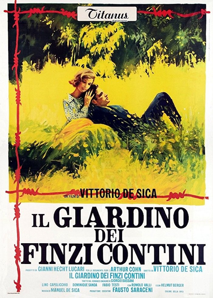 Movie Poster -Garden of the Finzi-Continis