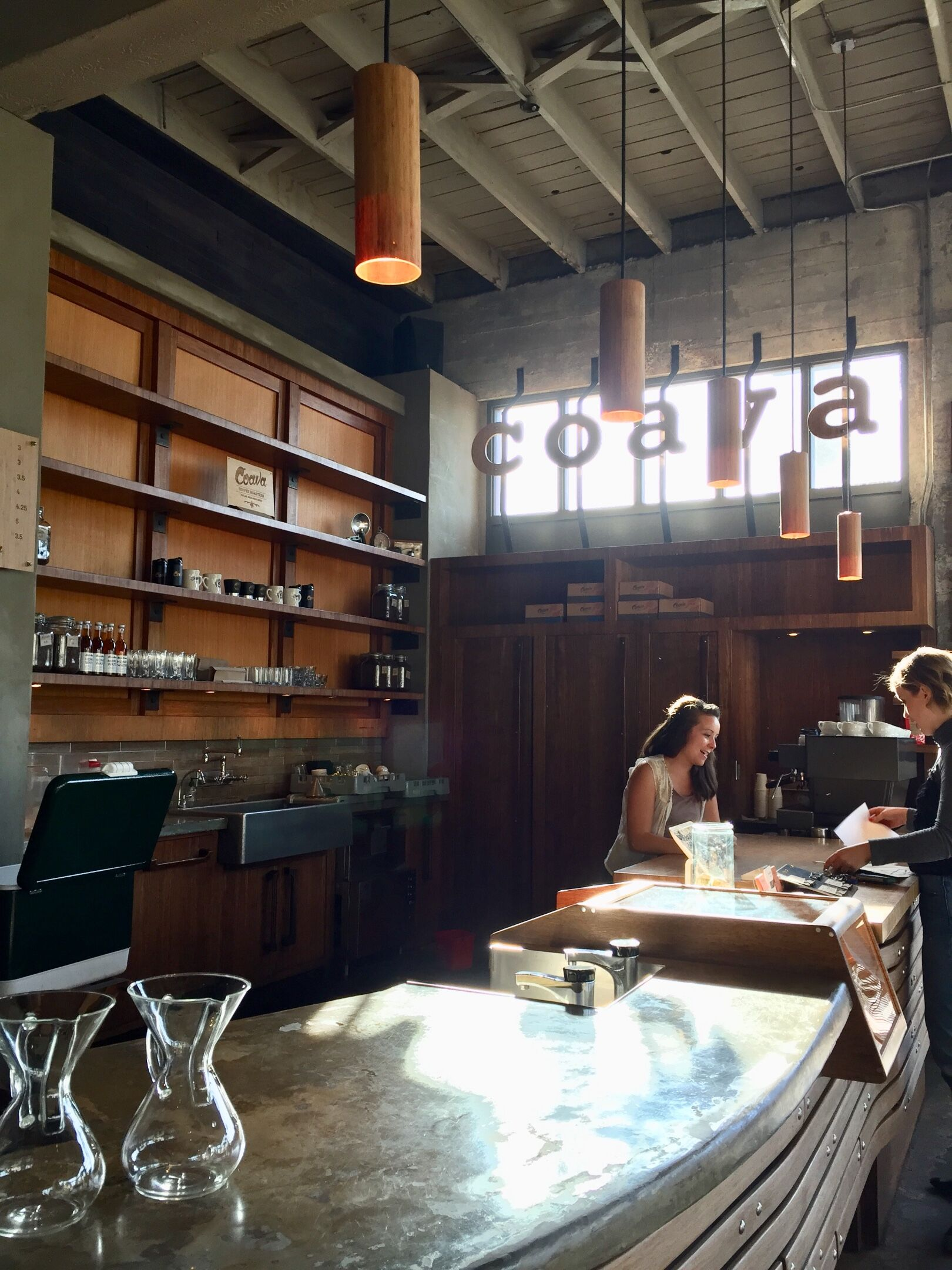 Portland is known for its coffee, including Coava brewery