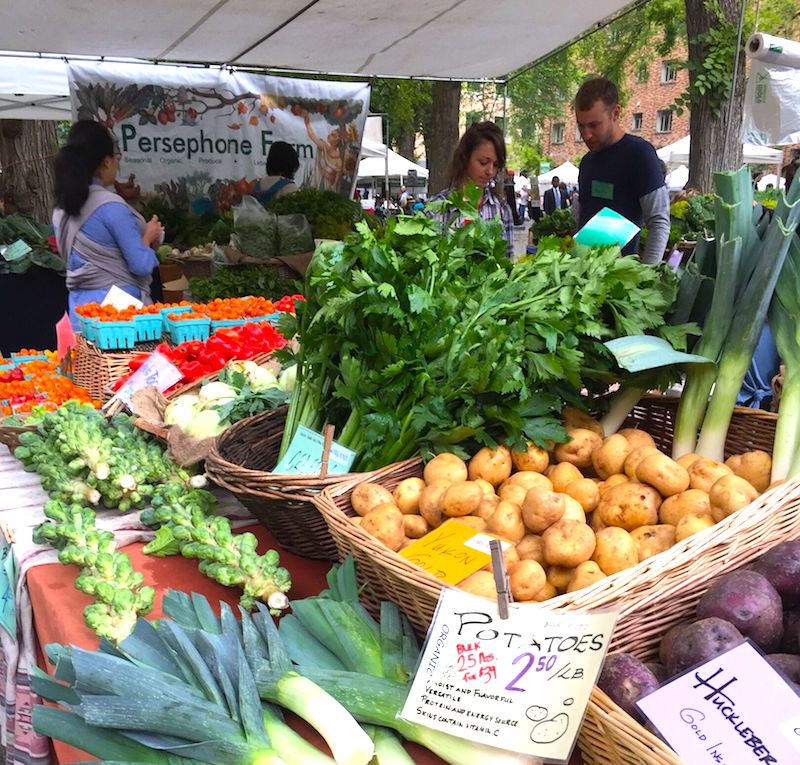 The PSU Farmers Market on Saturday is not to be missed