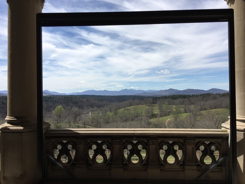 Terrace view from the Biltmore House (J.S. Fletcher)
