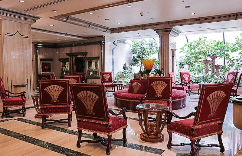 Inside the Sonesta St George Luxor Hotel